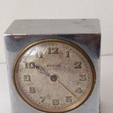 Despertadores antiguos: ANTIGUO RELOJ ZENITH SWISS MADE LOS AÑOS 20/30 FUNCCIONANDO. Lote 179033732