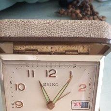 Despertadores antiguos: DESPERTADOR DE VIAJE SEIKO . Lote 180140503
