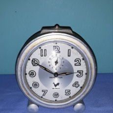 Despertadores antiguos: ANTIGUO RELOJ DESPERTADOR BLANGY REPETITOR MADE IN FRANCE FUNCIONA EN BUEN ESTADO. Lote 180317070
