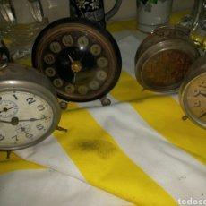 Despertadores antiguos: LOTE DE DESPERTADORES, 4. Lote 180403956