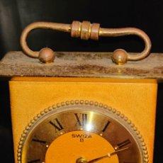 Despertadores antiguos: ANTIGUO RELOJ DESPERTADOR FUNCIONANDO. Lote 181516026