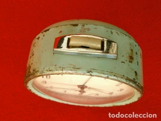 Despertadores antiguos: RELOJ CLASICO DESPERTADOR A CUERDA - MARCA GANG 2 JEWELS - SPAIN - Foto 4 - 181528302