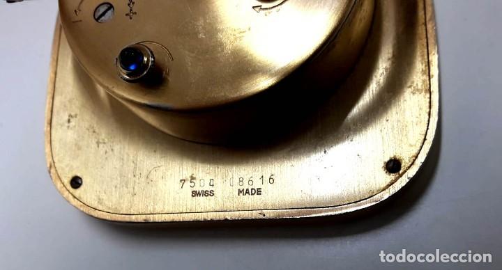 Despertadores antiguos: EXCELENTE RELOJ DESPERTADOR CARTIER AÑOS 60 EN MUY BUEN ESTADO - Foto 5 - 182363487