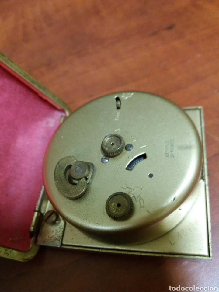 Despertadores antiguos: Reloj despertado Junghans, funciona - Foto 2 - 182487057