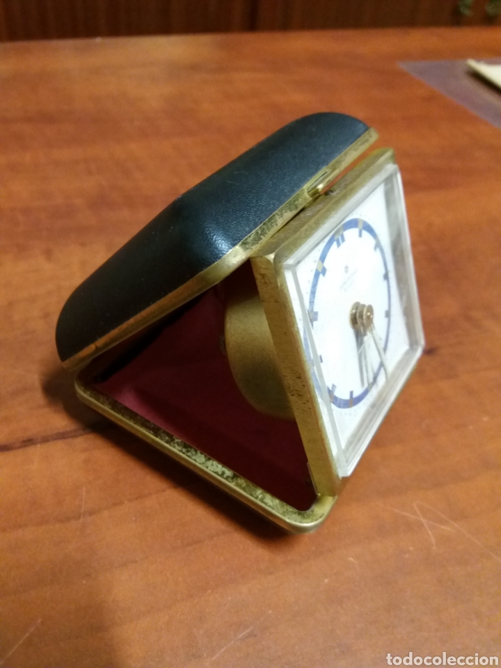 Despertadores antiguos: Reloj despertado Junghans, funciona - Foto 5 - 182487057
