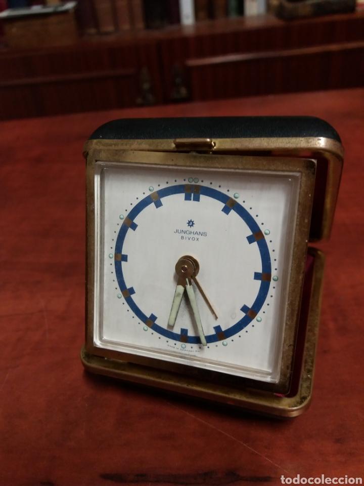 RELOJ DESPERTADO JUNGHANS, FUNCIONA (Relojes - Relojes Despertadores)