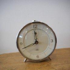 Despertadores antiguos: RELOJ DESPERTADOR ZAFIRO ALBA. Lote 182629591