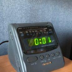 Despertadores antiguos: RELOJ-DESPERTADOR 'AIWA'. Lote 182883288