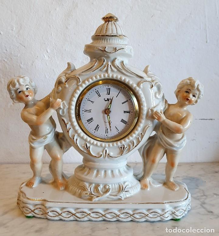 RELOJ DESPERTADOR DE PORCELANA (Relojes - Relojes Despertadores)