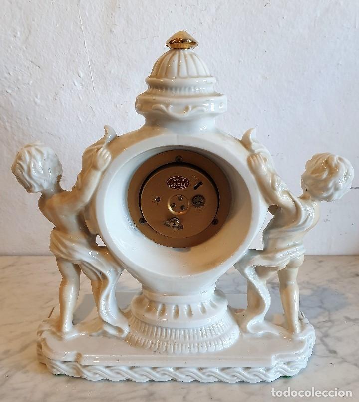 Despertadores antiguos: RELOJ DESPERTADOR DE PORCELANA - Foto 2 - 183020942