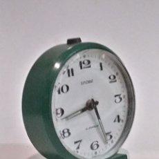 Despertadores antiguos: DIPLOMAT DESPERTADOR DE METAL. Lote 183324306