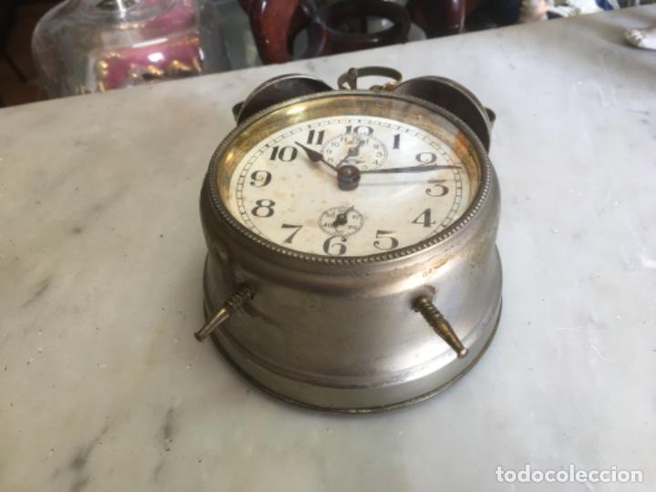 Despertadores antiguos: Reloj despertador alemán, de la década de los 20/30, funcionando - Foto 5 - 183471727