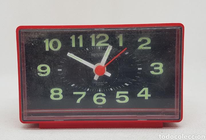 RELOJ DESPERTADOR - FUNCIONANDO - CAR167 (Relojes - Relojes Despertadores)