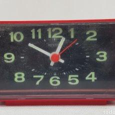Despertadores antiguos: RELOJ DESPERTADOR - FUNCIONANDO - CAR167. Lote 183614713
