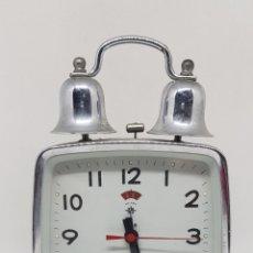 Despertadores antiguos: RELOJ DESPERTADOR - POLARIS - FUNCIONANDO - CAR167. Lote 183614933