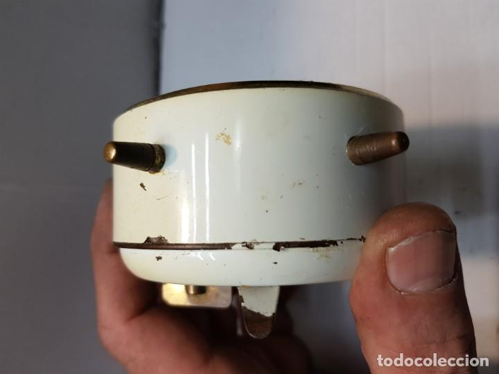 Despertadores antiguos: Reloj despertador doble campana PETER Alemán funcionando - Foto 4 - 184054072