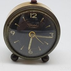Réveils anciens: RELOJ DESPERTADOR DIEHL ( MADE IN GERMANY ) NO SABEMOS SI FUNCIONA. Lote 184103767