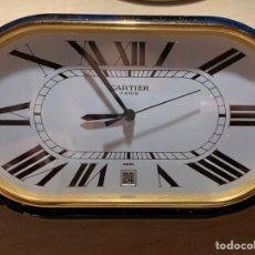 Despertadores antiguos: FANTÁSTICO RELOJ DESPERTADOR CARTIER. Lote 184301552