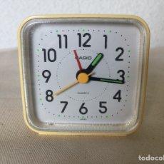 Despertadores antigos: DESPERTADOR CASIO QUARTZ. Lote 184712245