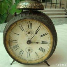 Despertadores antiguos: RELOJ DESPERTADOR DE COLECCIÓN. Lote 184773072