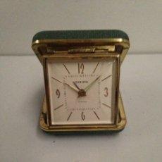 Despertadores antiguos: RELOJ DESPERTADOR EUROPA. Lote 187432891