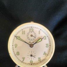 Despertadores antiguos: RELOJ DESPERTADOR MAUTHE (GERMANY) - FUNCIONANDO. Lote 189409595