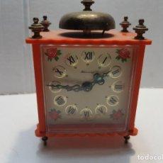 Despertadores antiguos: RELOJ DESPERTADOR DE CAMPANA BLESSING VINTAGE . Lote 189668796