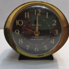 Despertadores antiguos: RELOJ DESPERTADOR BABY BEN WESTCLOX MADE IN SCOTLAND. Lote 189669015