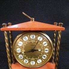 Despertadores antiguos: RELOJ DESPERTADOR WEHRLE, GERMANY. FUNCIONA. Lote 190284070