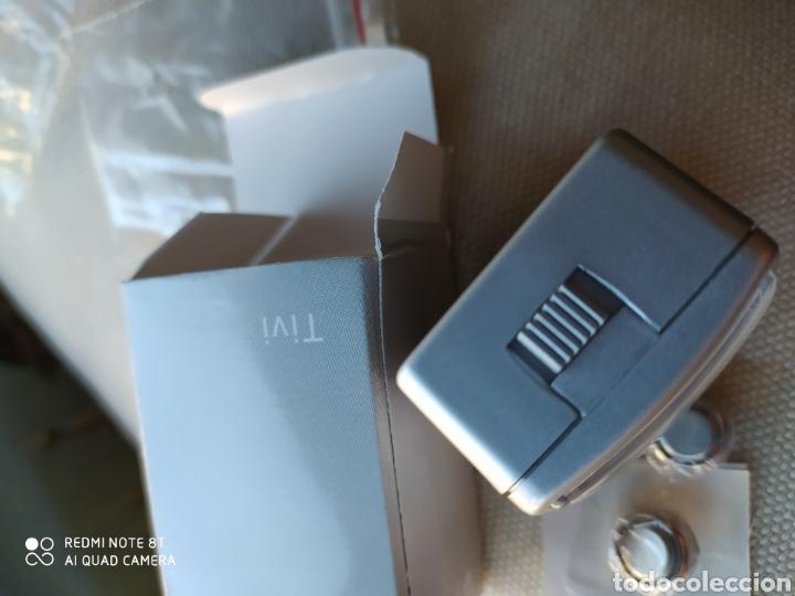 Despertadores antiguos: Mini despertador de viaje antiguo procedente de stock - Foto 3 - 190331811