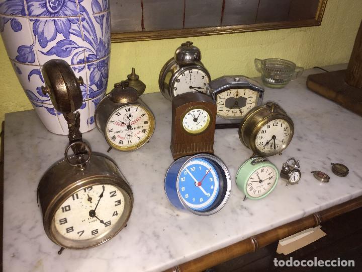 VARIOS RELOJES DE MESA DESPERTADOR. CONSULTAR PRECIO (Relojes - Relojes Despertadores)