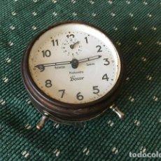 Despertadores antiguos: RELOJ DESPERTADOR BOXER. VALENTÍN SUÁREZ, PONTEVEDRA.. Lote 190594543