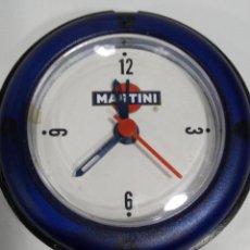 Despertadores antiguos: RELOJ DESPERTADOR MARTINI 8 CM. Lote 191101338