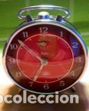 Despertadores antiguos: RELOJ DESPERTADOR. AÑOS 70. FUNCIONANDO TODO. ZAFIRO. EXCELENTE CROMADO. DESCRIPCION Y FOTOS. - Foto 10 - 191330483