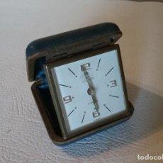 Despertadores antiguos: RELOJ DESPERTADOR EUROPA 2 JEWELS.. Lote 191525442