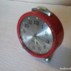 Despertadores antiguos: RELOJ DESPERTADOR GANG 2 JEWELS. Lote 191529923