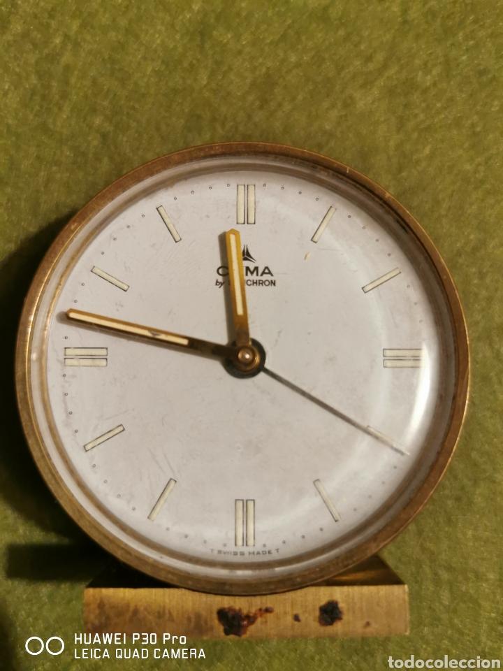 Despertadores antiguos: Reloj despertador cyma - Foto 4 - 192489988