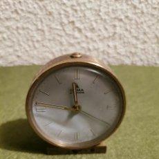 Despertadores antiguos: RELOJ DESPERTADOR CYMA. Lote 192489988