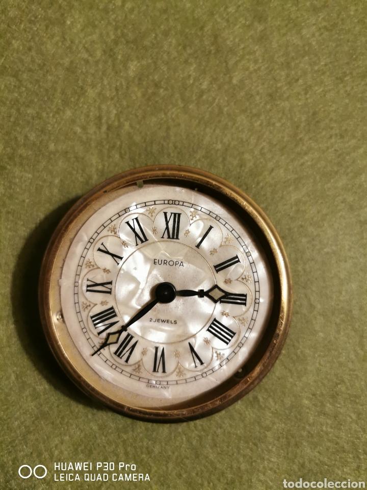 RELOJ DESPERTADOR MARCA EUROPA (Relojes - Relojes Despertadores)