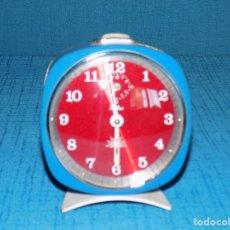 Despertadores antiguos: RELOJ DESPERTADOR ZAFIRO. Lote 192698555