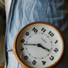 Despertadores antiguos: ANTIGUO RELOJ DESPERTADOR RUHLA DDR. Lote 192783297