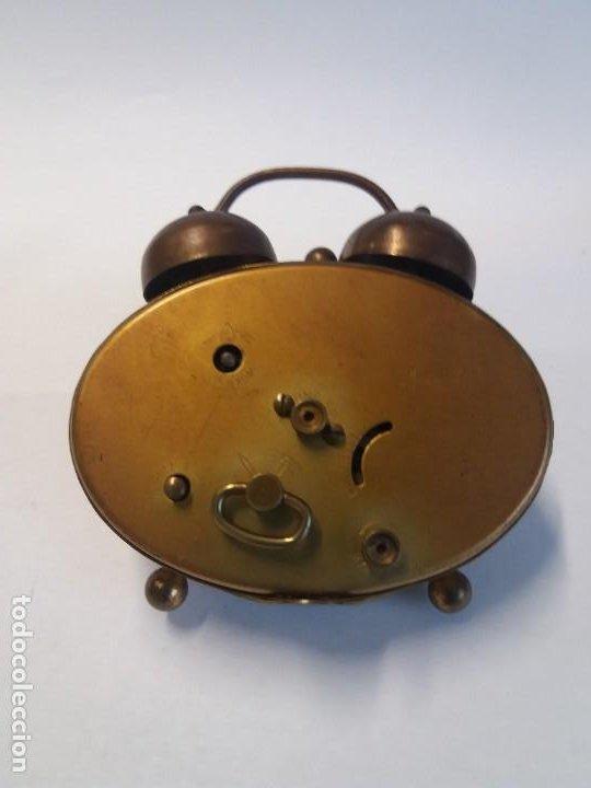 Despertadores antiguos: PRECIOSO RELOJ DE SOBREMESA ALEMAN AÑOS 50 - Foto 6 - 192933545