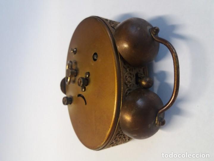 Despertadores antiguos: PRECIOSO RELOJ DE SOBREMESA ALEMAN AÑOS 50 - Foto 9 - 192933545