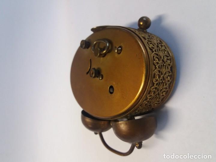 Despertadores antiguos: PRECIOSO RELOJ DE SOBREMESA ALEMAN AÑOS 50 - Foto 10 - 192933545