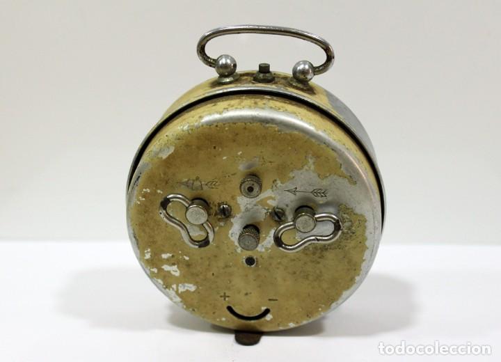 Despertadores antiguos: Reloj despertador OBAYARDO. FUNCIONANDO. - Foto 5 - 193641947
