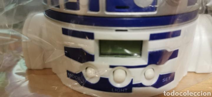 Despertadores antiguos: Reloj Despertador R2D2 COLA CAO (NUEVO) 10x11cm - Foto 6 - 194133175