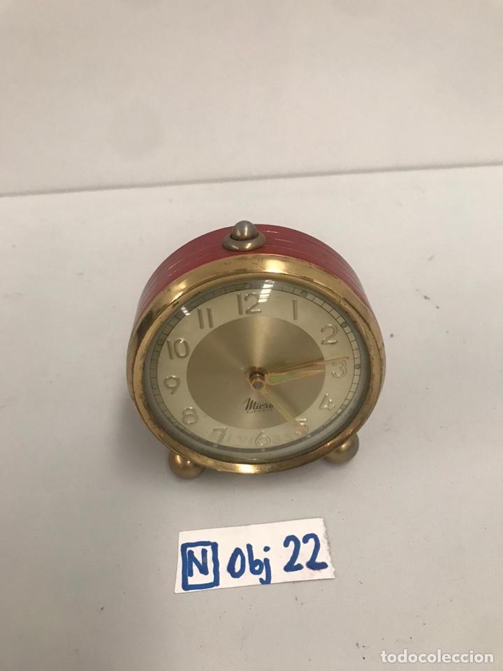DESPERTADOR MICRO (Relojes - Relojes Despertadores)