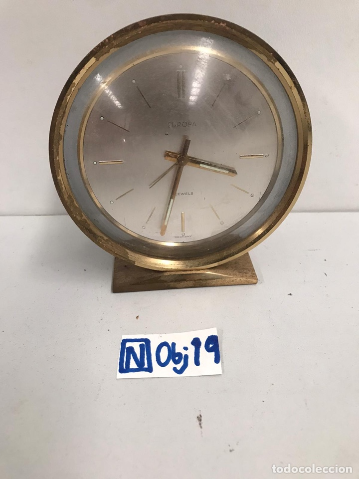 ANTIGUO DESPERTADOR EUROPA (Relojes - Relojes Despertadores)