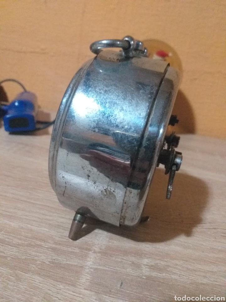 Despertadores antiguos: RELOJ DESPERTADOR RUBI RELOJERIA A.CEBALLOS MONTILLA - Foto 2 - 194229777