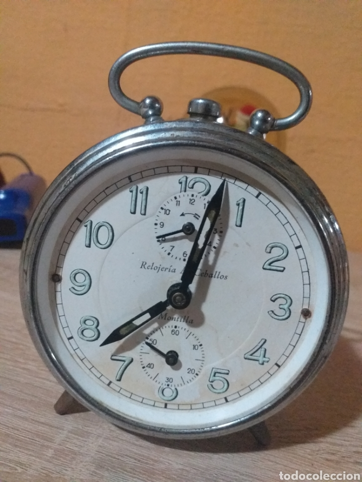 RELOJ DESPERTADOR RUBI RELOJERIA A.CEBALLOS MONTILLA (Relojes - Relojes Despertadores)